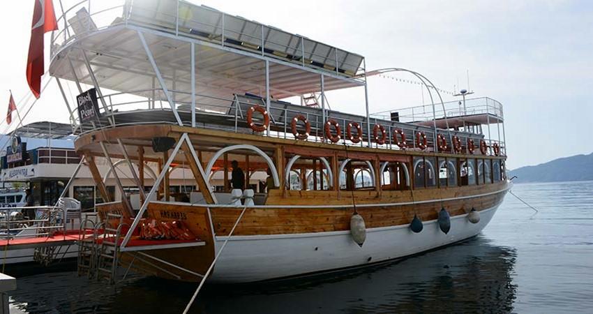 Прогулка на яхте в Мармарисе